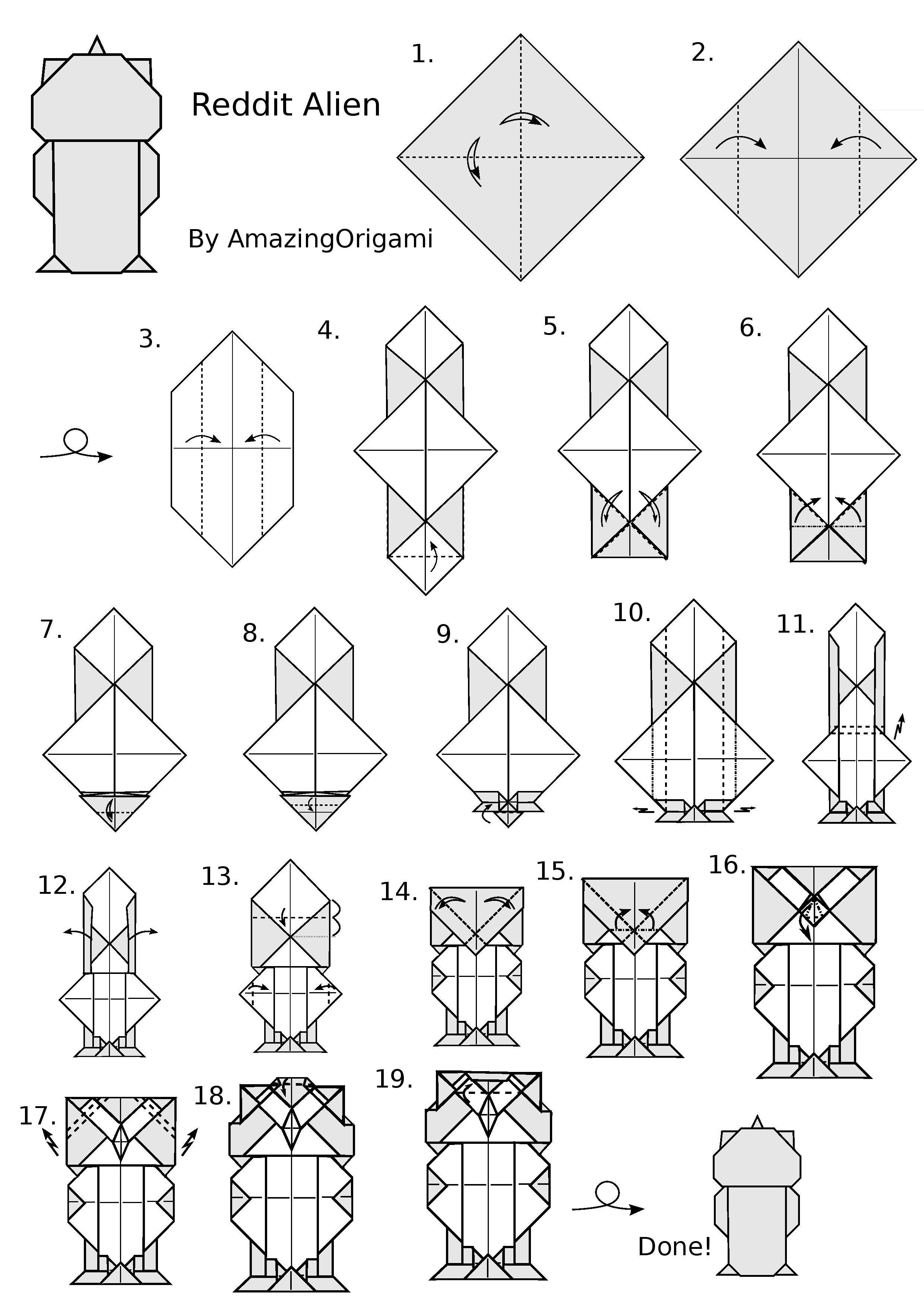 Origami Animals instructions  Origami Resource Center